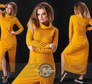 Платье - 13416 (горчица)