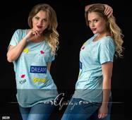 Футболка - 10339 (голубой)