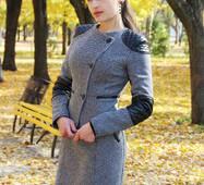 Жакет женский твидовый Twid_grey (Серый)