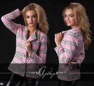Пиджак - 9193 (розовая)