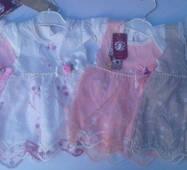 Сукня для дівчаток оптом на 6-12-18 мес рожеве