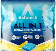 Таблетки для посудомоечных машин Astonish  All in 1, 100 шт