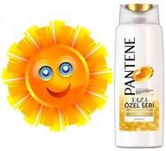 Шампунь PANTENE pro-v YAZA, для догляду за волоссям влітку, 600 ml, оригінальний