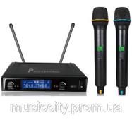 BIG U55 радиосистема UHF, на 2 микрофона