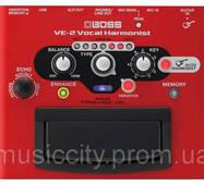 Boss VE2 напольный процессор гармонайзер для вокала