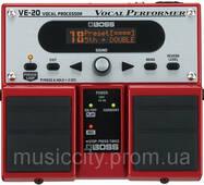 Boss VE20 напольный процессор эффектов для вокала
