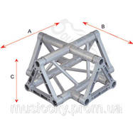 SoundKing SKDKC 2203T алюминиевый уголок, треугольник