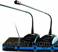 Emiter - S MP - 862 радіосистема, 2 настільні мікрофони