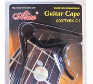 Alice A007D/BK-C1 каподастр для классической гитары, металл