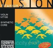 Струни для скрипки Thomastik Vision Titanium Solo VIT100