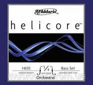 Струни для контрабаса D'Addario H610 3/4M Helicore