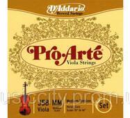 Струни для альта D'Addario J58 MM Pro Arte