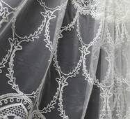 Тюль-гардина зі стразами шеніл oscar brillant купити недорого