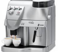 Супер автоматическая профессиональная кофеварка Spidem Villa Silver