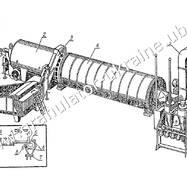 Сушка барабанна АВМ-1,5 (в доревізійному стані)