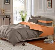 Подростковое двустороннее постельное белье Порох + Медовый