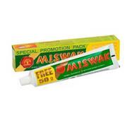 Зубна паста натуральна без фтору Miswak  170г
