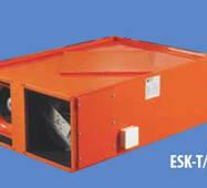 Припливно-витяжна установка з рекуперацією підвісного типу ESK-T 45