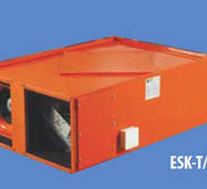 Припливно-витяжна установка з рекуперацією підвісного типу ESK-T 40
