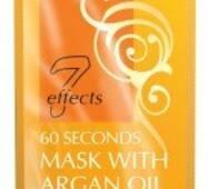 60-секундная маска с аргановым маслом, 15 мл