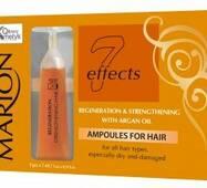 Ампулы для волос с аргановым маслом Marion, 5*7 мл