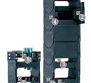 Кабелевкладальні ланцюги Система E4/Light Сериї 14040/14140/R18840