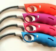 Запальничка для газової плити з тим, що гнеться носиків і захистом від дітей, упаковка - 24 шт.