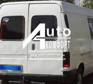 Заднє скло (відкривне праве) без електрообігріву на Ford Transit (1986-2003) (VE6, VE64, VE83) (Форд Транзит 86-03)