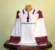 Сорочка жіноча з тканою виишивкою