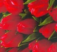 Подарочная цветочная бумага 43