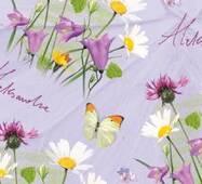 Подарочная цветочная бумага 46