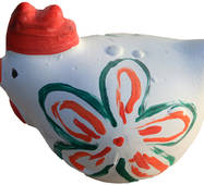 Гипсовая игрушка Курочка
