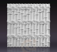 Гіпсові панелі «Бамбук»