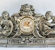 Настольные часы из гипса