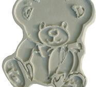 Игрушка из гипса Мишка