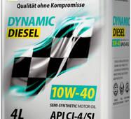 Олія ДВС 10w-40, Rolf, диз, Dynamic Diesel CI - 4/SL,   4л, п/синт