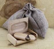 Деревянная флешка со шкатулкой