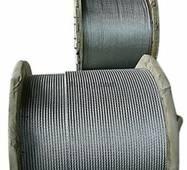 Канат стальной, диаметр 2,0 мм с нержавеющей стали