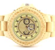 Дерев'яний наручний годинник Maple