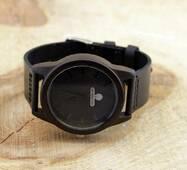Дерев'яний наручний годинник SkinWood Black