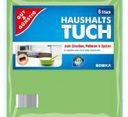 Серветки для прибирання універсальні Gut & Günstig Haushalts Tuch 6 шт в уп.
