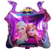 Фольгированный повітряна кулька Замок Холодне серце  60 х 52 см