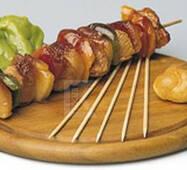 Палички для шашлику бамбукові 25 см 100 шт/ уп.