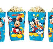 Коробки для сладостей и попкорна Микки Маус (5 штук)