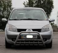 Кенгурятник WT004 (нерж.) - Renault Scenic 2003-2009 гг. купить в Черкассах