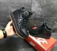 Стильні зимові чоловічі кросівки Nike Air Force LF-1 купити в Україні