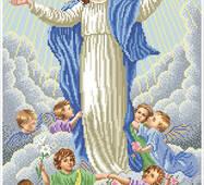 """Набор для вышивания бисером """"Вознесение Девы Марии"""""""