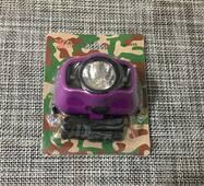 Фонарик светодиодный на голову 1 led / ХМ-5050