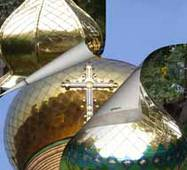 Купола и кресты церквей, покрытые нитридом титана, купить в Украине