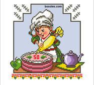 """Набір для вишивання бісером """"Весела Кухня 09"""""""